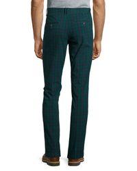 Original Penguin - Green Plaid Perfect Chino Pants for Men - Lyst