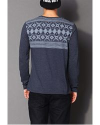 Forever 21 - Gray Desert Days Crew Neck You've Been Added To The Waitlist for Men - Lyst