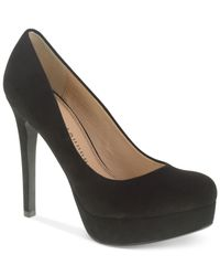 Chinese Laundry | Black Wonder Platform Pumps | Lyst