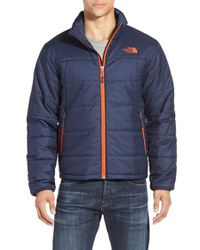 The North Face | Blue 'bombay' Quilted Jacket for Men | Lyst