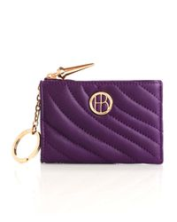 Henri Bendel | Purple No 7 Mini Zip | Lyst