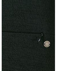 Woolrich - Black Round Neck Dress - Lyst