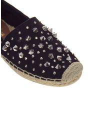 Sam Edelman | Black Linsley Studded Flat Shoe | Lyst
