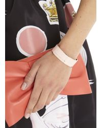 Marc By Marc Jacobs | Rose Gold Tone Pink Enamel Cuff | Lyst