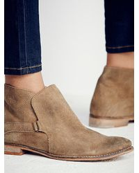 Free People - Brown Summit Ankle Boot - Lyst