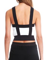 3.1 Phillip Lim | White Sleeveless Cropped Tank | Lyst