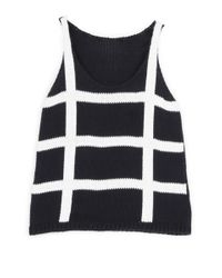 Wool And The Gang | Blue Knots 'n' Crosses Tank | Lyst