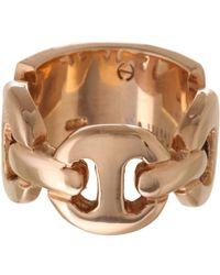 Hoorsenbuhs - Pink Id Plate Ring - Lyst