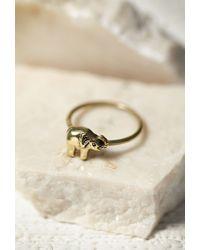 Forever 21 | Metallic Sunahara Elephant Midi Ring | Lyst