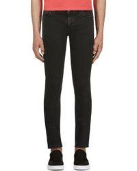 Nudie Jeans | Black Organic Thin Finn Slim Fit for Men | Lyst