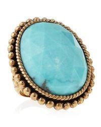 Stephen Dweck - Blue Oval Turquoise Ring - Lyst