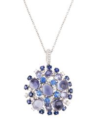 Roberto Coin | Blue 18k Diamond | Lyst