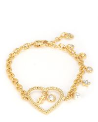 Juicy Couture | Metallic Charm School Bracelet | Lyst