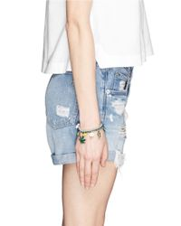 Venessa Arizaga - Multicolor 'ride Or Die' Bracelet - Lyst