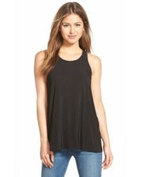 NIC+ZOE | Black 'feel Good' Tank | Lyst