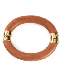 Aurelie Bidermann | Brown 'connie Island' Bangle | Lyst