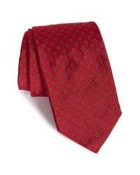 Robert Talbott - Red Best Of Class Geometric Silk Tie for Men - Lyst