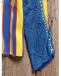 Free People - Multicolor Vintage Guatemalan Woven Sweater - Lyst