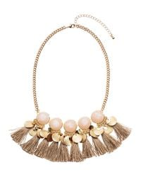 H&M | Metallic Necklace | Lyst