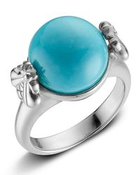Slane - Blue Turquoise Sterling Silver Bee Ring - Lyst