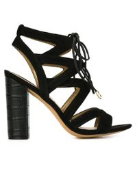 Sam Edelman | Black 'yardley' Sandals | Lyst