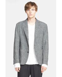 Barena - Gray Trim Fit Lightweight Wool Sport Coat for Men - Lyst