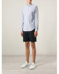 Burberry Brit - Blue Stripes Print Shirt for Men - Lyst