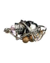 Kat&bee | Metallic Sterling Silver Renee Ring | Lyst