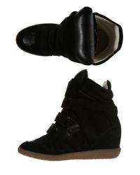 Isabel Marant | Black Bekett Sneaker | Lyst