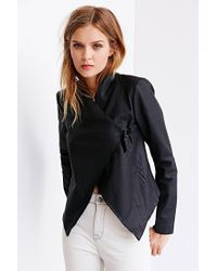 BB Dakota - Black Tamela Vegan Leather Jacket - Lyst
