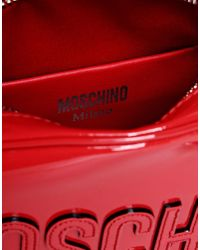 Moschino | Red Small Leather Bag | Lyst