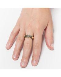 Pamela Love | Metallic 18k Gold Aeternum Ring | Lyst