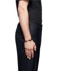 Eddie Borgo - Metallic Door Latch Cuff for Men - Lyst