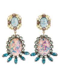 DANNIJO - Pink Paz Earrings - Lyst