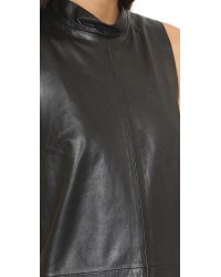 VEDA | Black Hall Leather Dress | Lyst