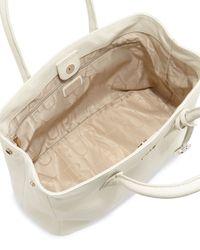 Furla - Pink Serena Medium East-West Leather Tote Bag - Lyst