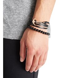 Simon Carter - Black Onyx Beaded Bracelet for Men - Lyst