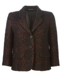 Tagliatore - Black Ardesia Wool and Cotton-Blend Blazer  - Lyst