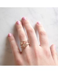 Katie Diamond Jewelry   Metallic Goldie Ring, Assorted Stones   Lyst