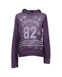 GAUDI - Purple Sweatshirt for Men - Lyst