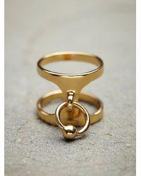 Maniamania - Metallic Luminary Ring - Lyst