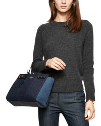 kate spade new york | Blue Holden Street Luxe Lanie | Lyst