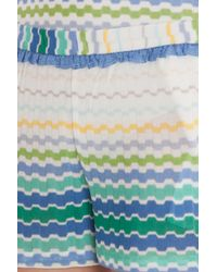 Missoni - Blue Frill Shorts - Lyst
