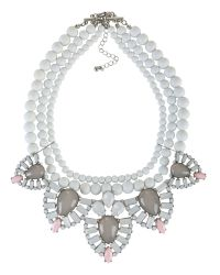 Ziba | Metallic Laura Necklace | Lyst