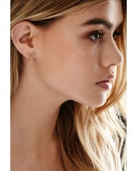 Forever 21 | Metallic By Boe Chain Bow Earrings | Lyst
