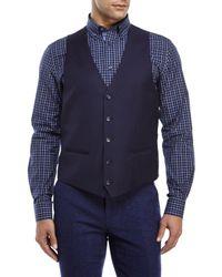 Moods Of Norway - Blue Stein Victor Suit Vest for Men - Lyst