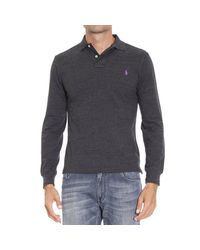 Polo Ralph Lauren - Gray T-shirt for Men - Lyst