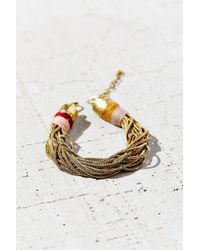 Urban Outfitters | Metallic Summer Snake Chain Bracelet | Lyst