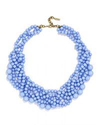 BaubleBar - Blue Bubblestream Collar - Lyst