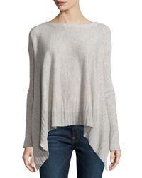 LOMA - White Cashmere Long-sleeve Twelve-gauge Sweater - Lyst